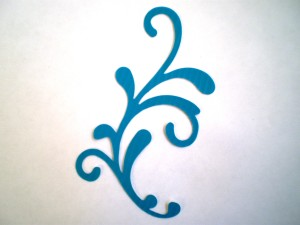 Filigree Duct Tape Die Cut