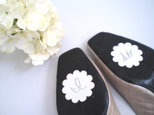 Bridal Shoes Die Cuts