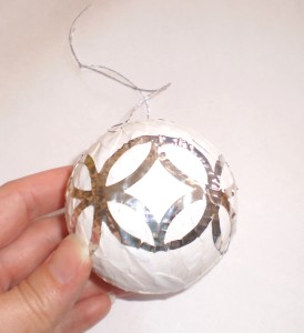 duct tape christmas ornament