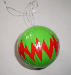 red and green ornament